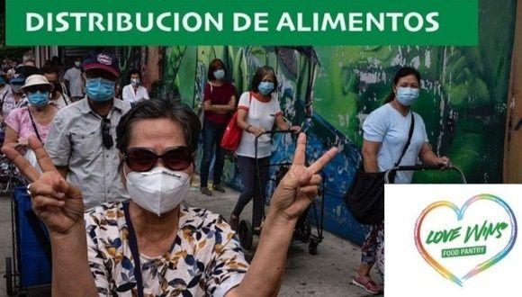 East Bronx Dems Mutual Aid Group's New Community Fridge - freshly painted!