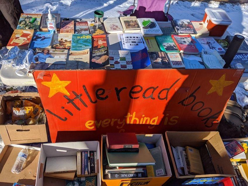 Little Read Books' Bookstand in Denver, CO