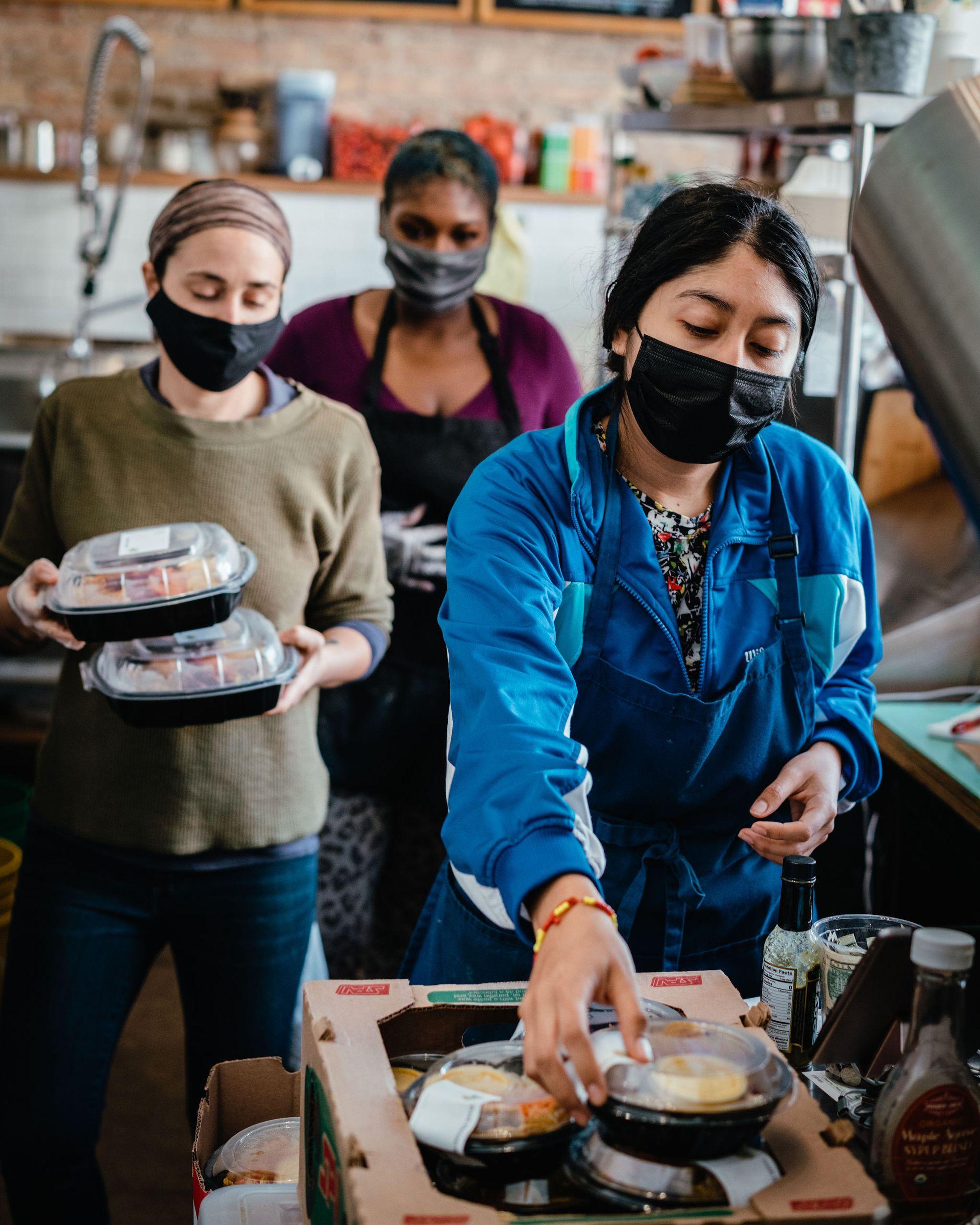 The Love Fridge - Full Circle: Q&A with Alexandra Curatolo/Chef Kymber Steward