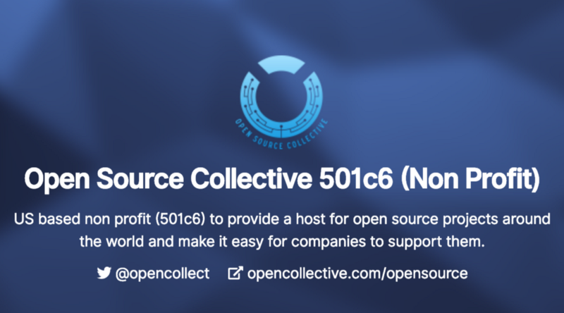 Open Source Collective Update #1