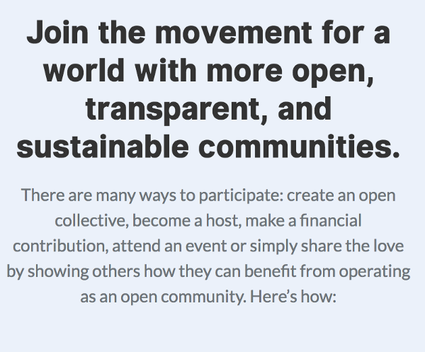 July 2018 Open Collective Newsletter
