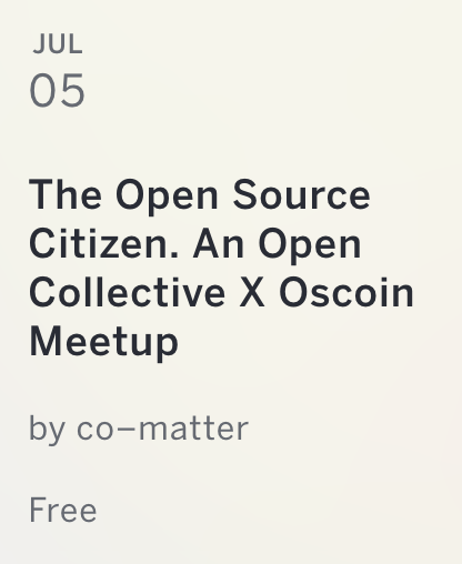 Open Collective June 2018 Newsletter